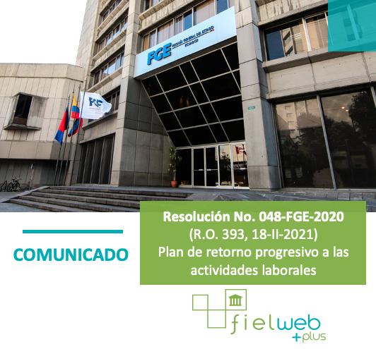Resolución No. 048-FGE-2020
