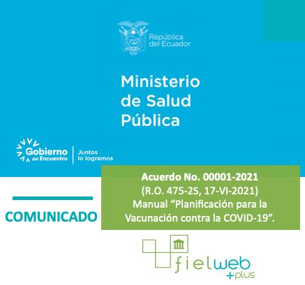 Acuerdo No. 00001-2021